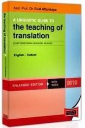Yargı Yayınevi - A Lınguıstıc Guıde To The Teaching Of Translation English - Turkish