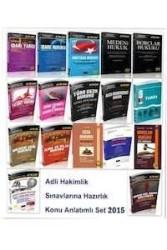 Savaş Yayınevi - Adli Hakimlik Sınavlarına Hazırlık Konu Anlatımlı Seti Savaş Yayınları 2015