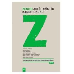 Dora Basım Yayın Dağıtım - Dora Yayınları ZENITH Adli Hakimlik Kamu Hukuku