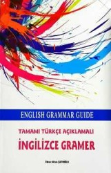 Kapadokya Yayınları - English Grammar Guide Tamamı Türkçe Açıklamalı İngilizce Gramer