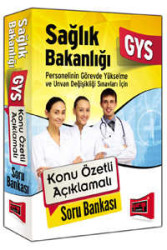 Yargı Yayınevi - GYS Sağlık Bakanlığı Konu Özetli Açıklamalı Soru Bankası Yargı Yayınları