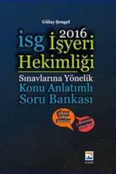 Nisan Kitabevi - İşyeri Hekimliği Sınavlarına Hazırlık Konu Anlatımlı Soru Bankası Nisan Kitabevi Yayınları 2016