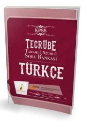 Pelikan Yayıncılık - Pelikan Yayıncılık KPSS Tecrübe Türkçe Tamamı Çözümlü Soru Bankası