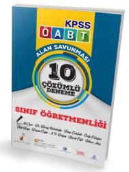 Pelikan Yayıncılık - Pelikan Yayınları 2017 ÖABT Sınıf Öğretmenliği Çözümlü 10 Deneme