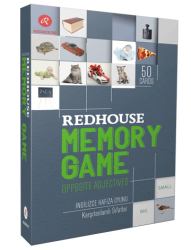 Redhouse Yayınevi - Redhouse Memory Game Opposite Adjectives