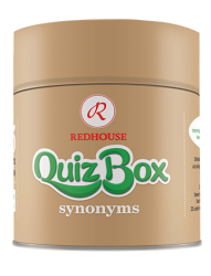 Redhouse Yayınevi - Redhouse Quiz Box Synonyms