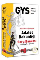 Yargı Yayınevi - Yargı Yayınları GYS Adalet Bakanlığı Açıklamalı ve Çözümlü Soru Bankası