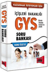 Yargı Yayınevi - Yargı Yayınları GYS İçişleri Bakanlığı Konu Özetli Soru Bankası
