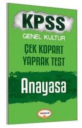 Yediiklim Yayınları - Yediiklim Yayınları KPSS Anayasa Çek Kopart Yaprak Test