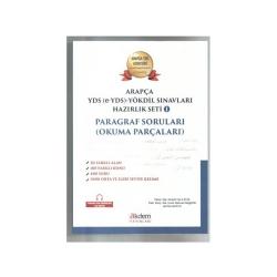 Akdem Yayınları - Akdem Yayınları Arapça YDS - e-YDS - YÖKDİL Sınavları Hazırlık Seti 1
