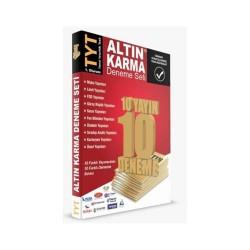 Altın Karma - Altın Karma YKS 1. Oturum TYT Deneme Seti 10 Farklı Yayın 10 Farklı Deneme