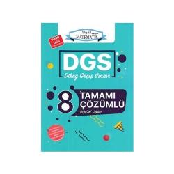 Ardıç Yayınları - Ardıç Yayınları DGS Tamamı Çözümlü 8 Deneme Sınavı Yaşar Hocayla