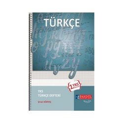 Pandül Yayınları - Pandül Yayınları YKS 1. Oturum TYT Türkçe Defteri