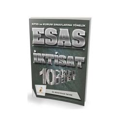 Pelikan Yayıncılık - Pelikan Yayıncılık 2018 KPSS ve Kurum Sınavlarına Yönelik ESAS İktisat 10 Çözümlü Deneme