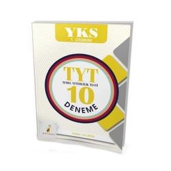 Pelikan Yayıncılık - Pelikan Yayınları YKS 1. Oturum TYT 10 Deneme