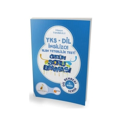 Pelikan Yayıncılık - Pelikan Yayınları YKS-DİL İngilizce Alan Yeterlilik Testi Özgün Soru Bankası