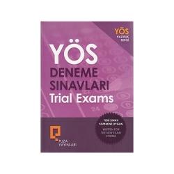 Puza Yayınları - Puza Yayınları YÖS Deneme Sınavları Trial Exams