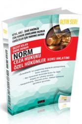 Savaş Yayınevi - Savaş Yayınları Norm Ceza Hukuku Özel Hükümler Konu Anlatımlı Altın Seri