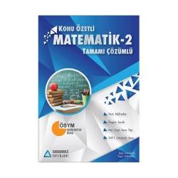 Sıradışıanaliz Yayınları - Sıradışıanaliz Yayınları Matematik 2 Konu Özetli Tamamı Çözümlü Soru Bankası