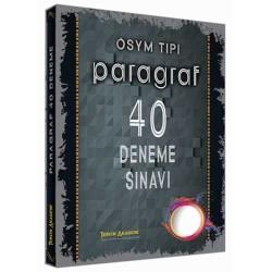 Tercih Akademi - Tercih Akademi Yayınları ÖSYM Tipi Paragraf 40 Deneme Sınavı