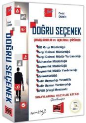 Yargı Yayınevi - Yargı Yayınları Doğru Seçenek Çıkmış Sorular ve Açıklamalı Çözümler 9. Baskı