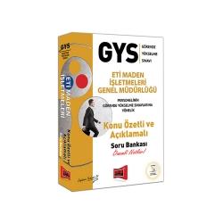 Yargı Yayınevi - Yargı Yayınları GYS Eti Maden İşletmeleri Genel Müdürlüğü Konu Özetli ve Açıklamalı Soru Bankası