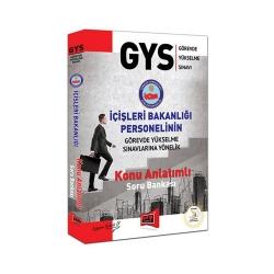 Yargı Yayınevi - Yargı Yayınları GYS İçişleri Bakanlığı Personelinin Sınavlarına Yönelik Konu Anlatımlı Soru Bankası