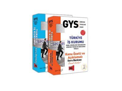 Yargı Yayınları GYS Türkiye İş Kurumu Konu Anlatımlı ve Soru Bankası Tam Hazırlık Seti