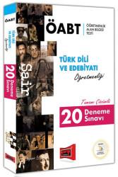 Yargı Yayınevi - Yargı Yayınları ÖABT ŞAİR Türk Dili ve Edebiyatı Öğretmenliği Tamamı Çözümlü 20 Deneme Sınavı