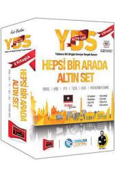 Yargı Yayınevi - Yargı Yayınları YDS Altın Seri Hepsi Bir Arada Altın Set