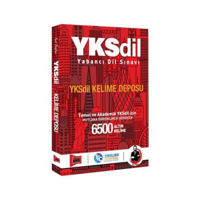Yargı Yayınları YKSDİL Kelime Deposu 6500 Altın Kelime