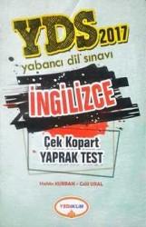 YDS İngilizce Çek Kopart Yaprak Test Yediiklim Yayınları - Thumbnail
