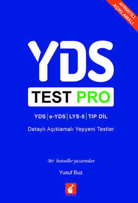 YDS Test Pro Detaylı Açıklamalı Yepyeni Testler Foxton Books