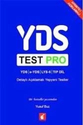 YDS Test Pro Detaylı Açıklamalı Yepyeni Testler Foxton Books - Thumbnail
