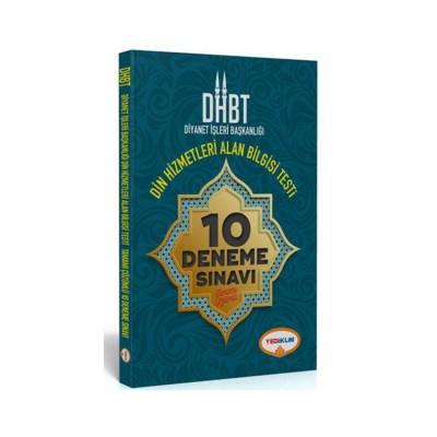 Yediiklim Yayınları DHBT Diyanet İşleri Başkanlığı Din Hizmetleri Alan Bilgisi Tamamı Çözümlü 10 Deneme Sınavı