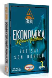 Yediiklim Yayınları - Yediiklim Yayınları KPSS A Grubu Ekonomika İktisat Son Dörtlü Konu Anlatımlı