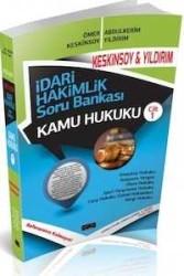 Savaş Yayınevi - İdari Hakimlik Soru Bankası - Kamu Hukuku Cilt 1 Savaş Yayınları 2014