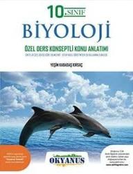 Okyanus Yayınları - Okyanus Yayınları 10. Sınıf Biyoloji Özel Ders Konseptli Konu Anlatımlı