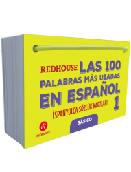 Redhouse Yayınevi - Redhouse Las 100 Palabras Mas Usadas En Espanol İspanyolca Sözcük Kartları 1