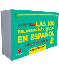 Redhouse Yayınevi - Redhouse Las 100 Palabras Mas Usadas En Espanol İspanyolca Sözcük Kartları 2