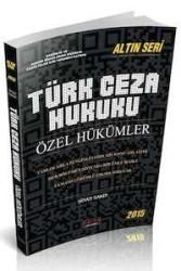 Savaş Yayınevi - Savaş Yayınları Türk Ceza Hukuku Özel Hükümler