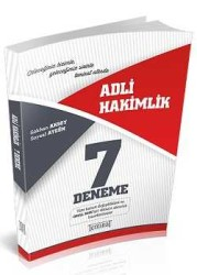 Teminat Yayıncılık - Teminat Yayıncılık Adli Yargı Hakimlik 7 Deneme Sınavı