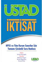 Üstad Yayınları - Üstad Yayınları KPSS ve Tüm Kurum Sınavları İçin Üstad İktisat Tamamı Çözümlü Soru Bankası