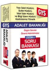 Yargı Yayınevi - Yargı Yayınları 2016 GYS Adalet Bakanlığı Yazı İşleri,Şube ve İdari İşler Müdürü İçin Çözümlü Soru Bankası
