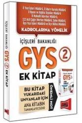 Yargı Yayınevi - Yargı Yayınları GYS İçişleri Bakanlığı Konu Özetli Soru Bankası Ek Kitabı