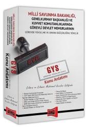 Yargı Yayınevi - Yargı Yayınları GYS Milli Savunma Bakanlığı Çıkmış ve Çıkması Muhtemel Sorular Eşliğinde Konu Anlatımı