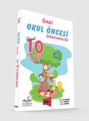 Yargı Yayınevi - Yargı Yayınları ÖABT Okul Öncesi Öğretmenliği Çözümlü 10 TG Deneme Sınavı
