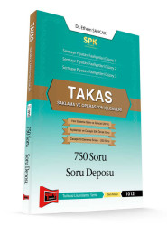 Yargı Yayınevi - Yargı Yayınları SPK Takas Saklama ve Operasyon İşlemleri 750 Soru Soru Deposu