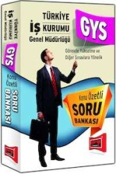 Yargı Yayınevi - Yargı Yayınları Türkiye İş Kurumu GYS Sınavı Konu Özetli Soru Bankası