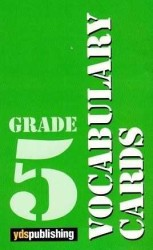 YDS Publishing - Ydspuplishing Yayınları Grade 5 Vocabulary Cards